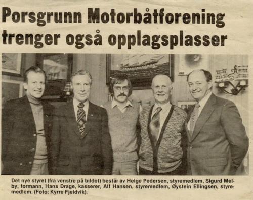 styret 1981-1